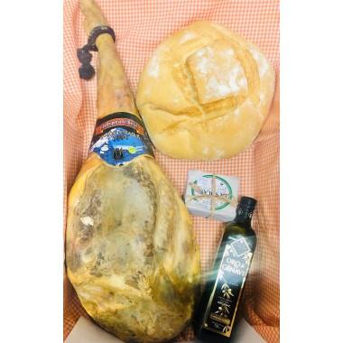 Lote Oferta Jamon +Queso+ Aceite+Pan de peñolite