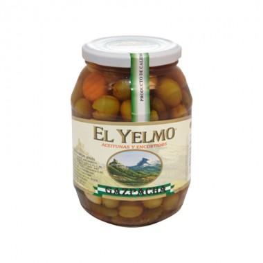 Aceitunas Gazpacha - El Yelmo 0.550 Kg