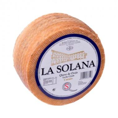 Queso Curado 100% Leche Cruda de Oveja Curado - La Solana -