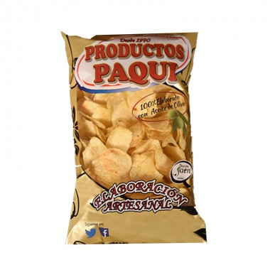 Patatas Fritas Aceite de Oliva - Paqui